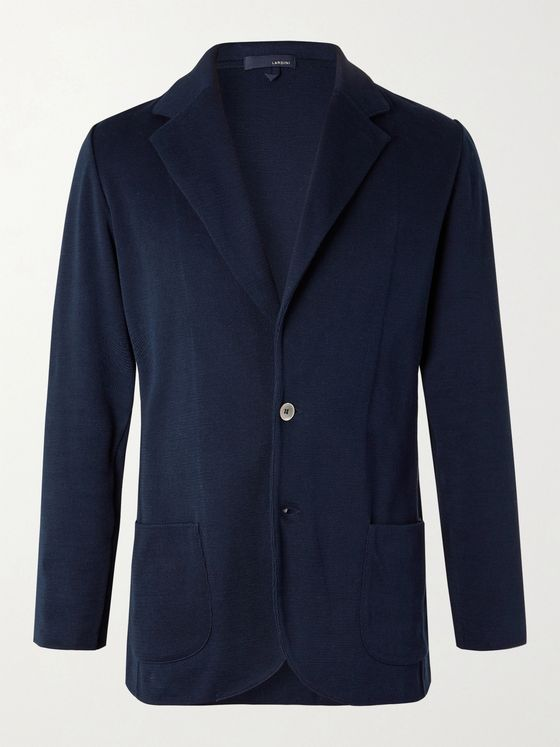 Lardini Unstructured Cotton Blazer