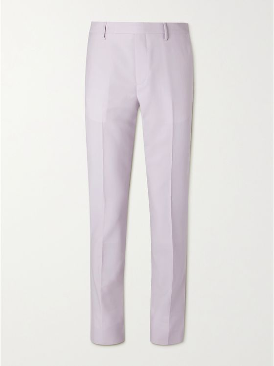 PAUL SMITH Slim-Fit Wool and Mohair-Blend Suit Trousers