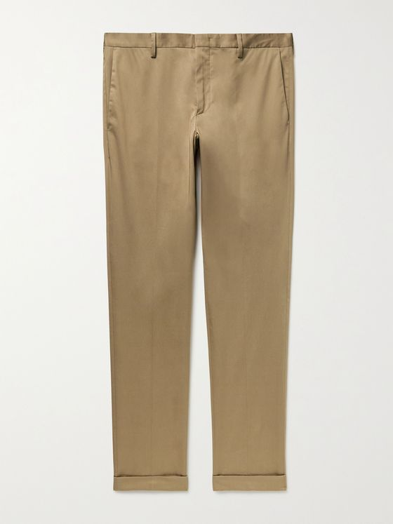 PAUL SMITH Slim-Fit Organic Stretch-Cotton Chinos