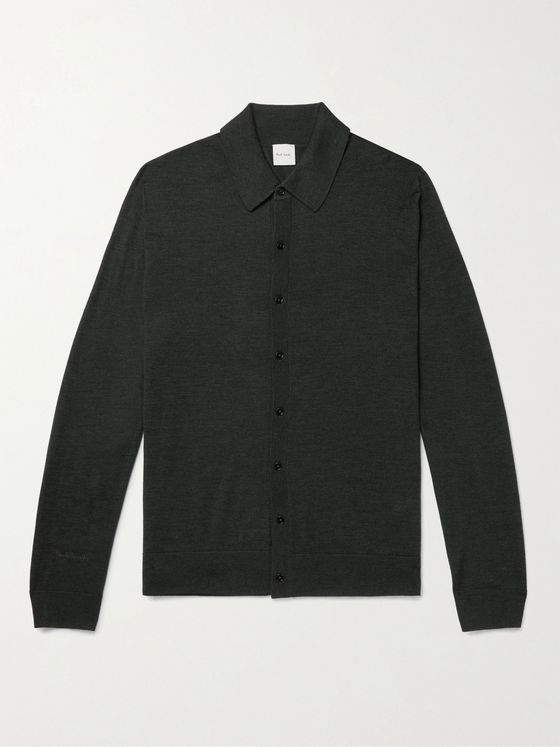 PAUL SMITH Merino Wool Shirt