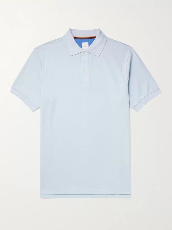 PAUL SMITH Cotton-Piqué Polo Shirt