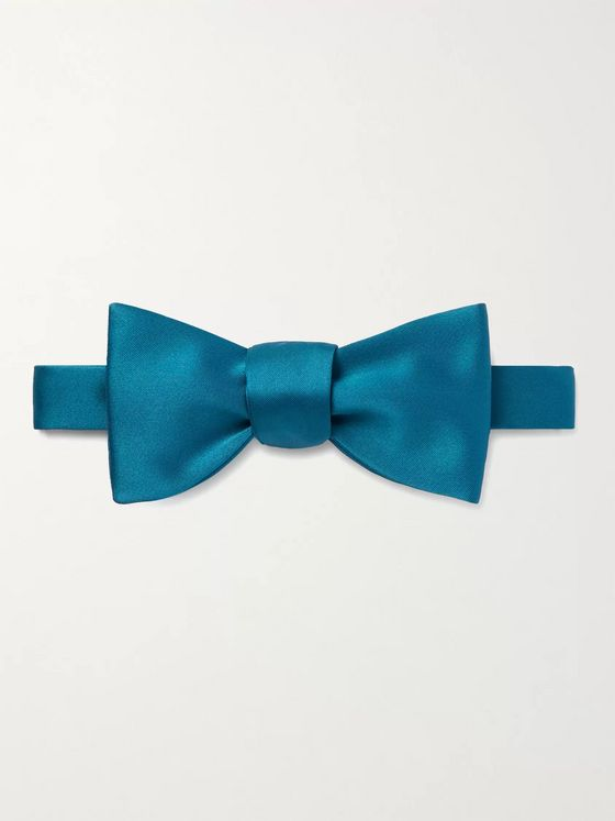 PAUL SMITH Pre-Tied Satin Bow Tie