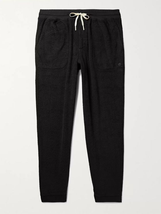 Outerknown Hightide Tapered Organic Cotton-Blend Terry Sweatpants
