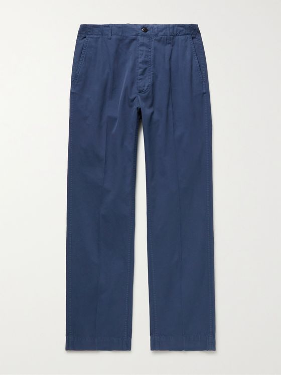 MAN 1924 Charles Cotton-Twill Trousers