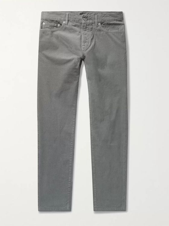 OUTERKNOWN Townes Slim-Fit Organic Cotton-Corduroy Trousers