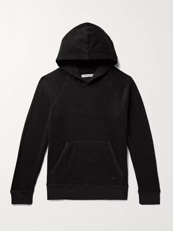 Outerknown Hightide Organic Cotton-Blend Terry Hoodie
