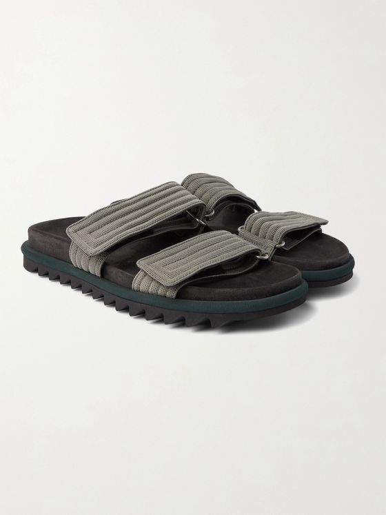 DRIES VAN NOTEN Webbing Slides
