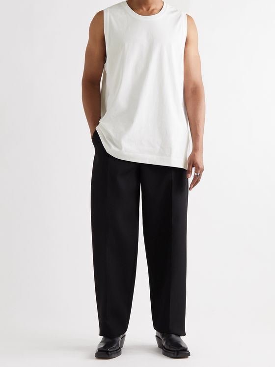 DRIES VAN NOTEN Cotton-Jersey Tank Top