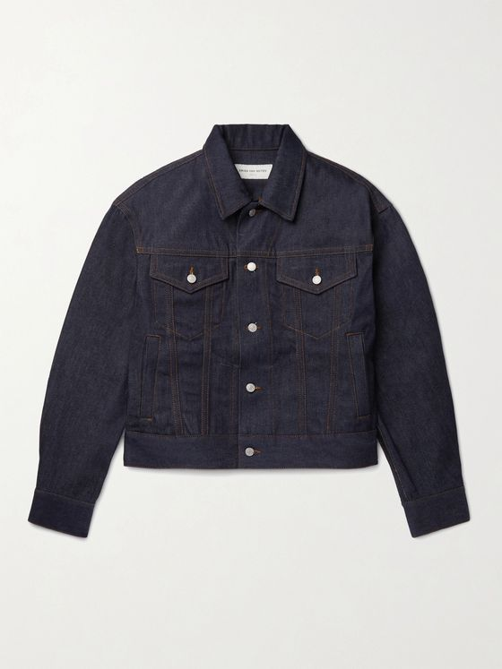 DRIES VAN NOTEN Selvedge Denim Jacket
