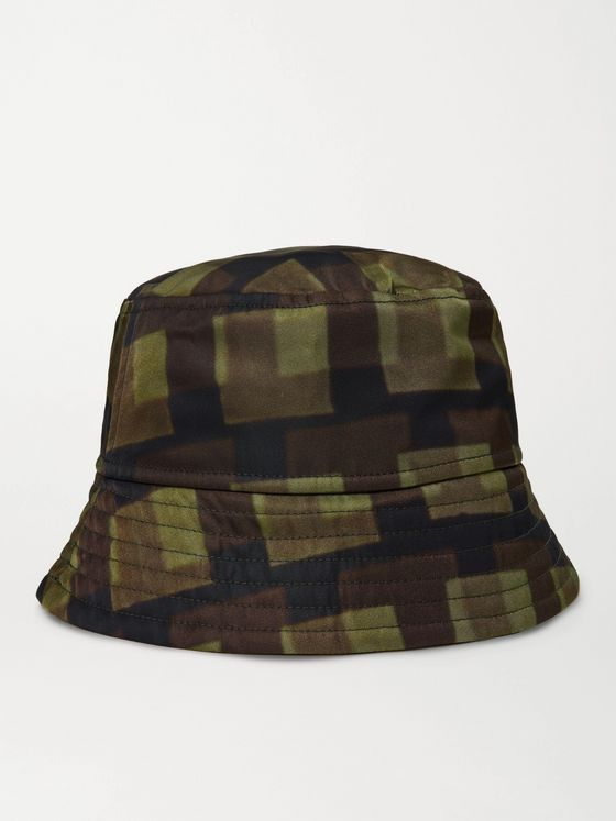 DRIES VAN NOTEN + Len Lye Gillian Printed Nylon Bucket Hat