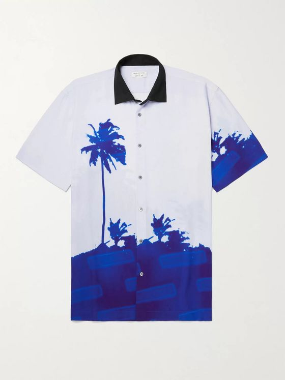DRIES VAN NOTEN + Len Lye Printed Woven Shirt