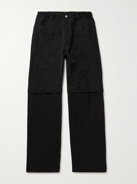 DRIES VAN NOTEN Convertible Shell Trousers