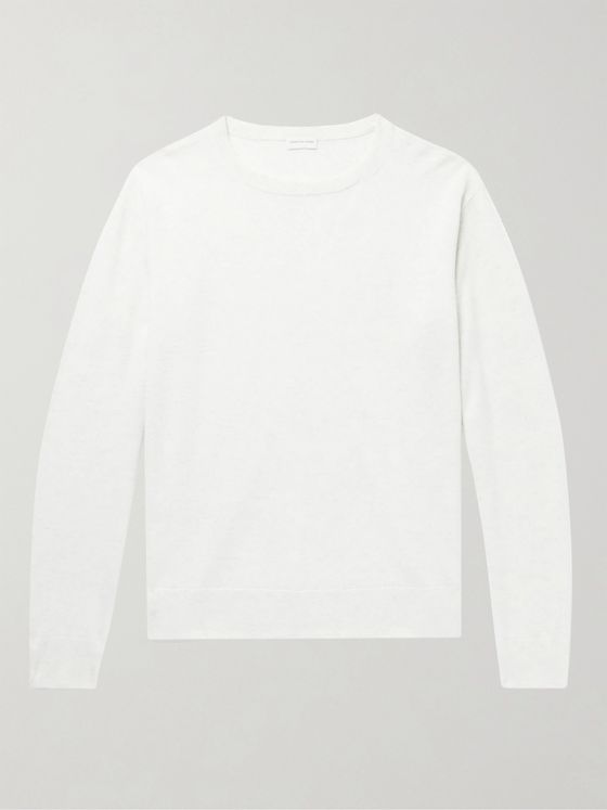 DRIES VAN NOTEN Mélange Cashmere Sweater