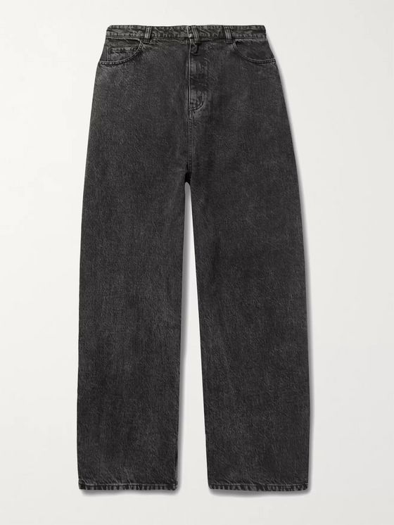 BALENCIAGA Wide-Leg Denim Jeans