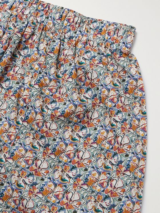 SUNSPEL + Liberty London Printed Cotton Boxer Shorts