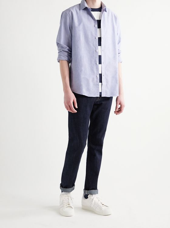 SUNSPEL Cotton Oxford Shirt