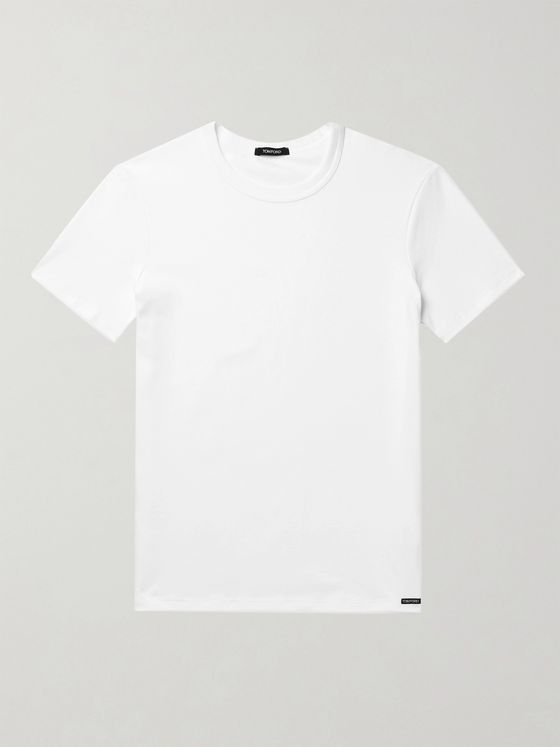 TOM FORD Slim-Fit Stretch-Cotton Jersey T-Shirt