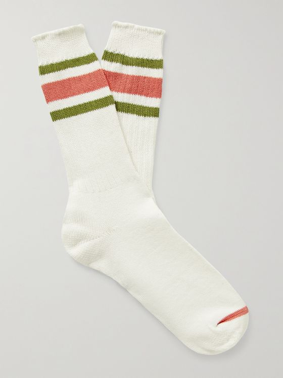 ANONYMOUS ISM Striped Recover Socks