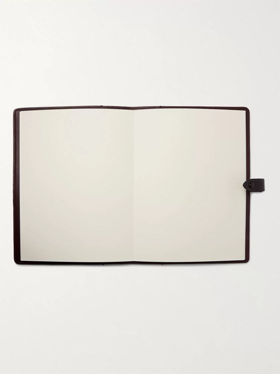 Métier Full-Grain Leather Notebook