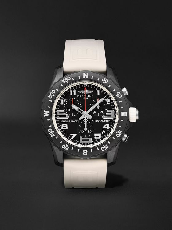 Breitling Endurance Pro SuperQuartz Chronograph 44mm Breitlight and Rubber Watch, Ref. No. X82310A71B1S1