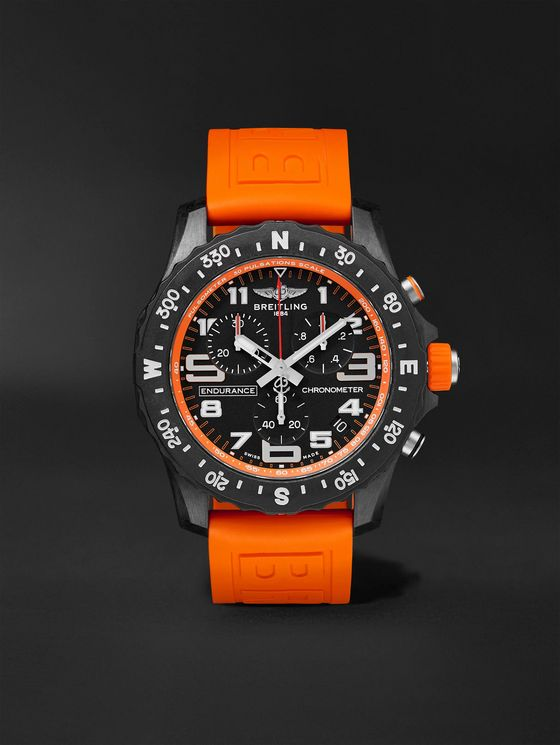 Breitling Endurance Pro SuperQuartz Chronograph 44mm Breitlight and Rubber Watch, Ref. No. X82310A51B1S1