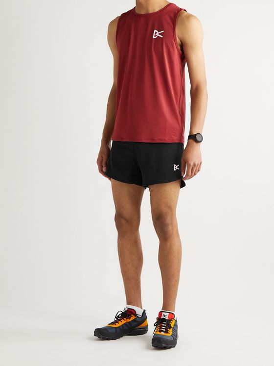 DISTRICT VISION Simon Slim-Fit Stretch-Shell Shorts