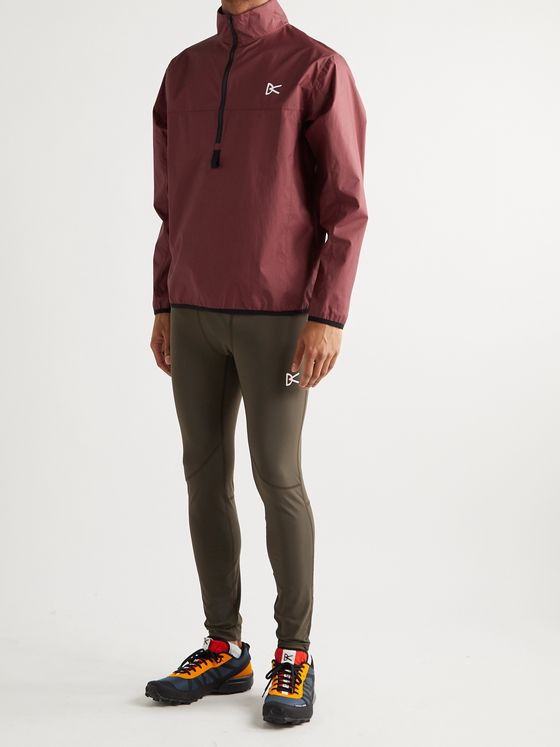 DISTRICT VISION Theo Shell Half-Zip Jacket