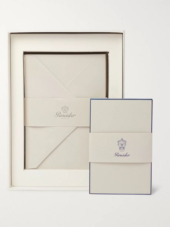 Pineider Milano Stationery Set