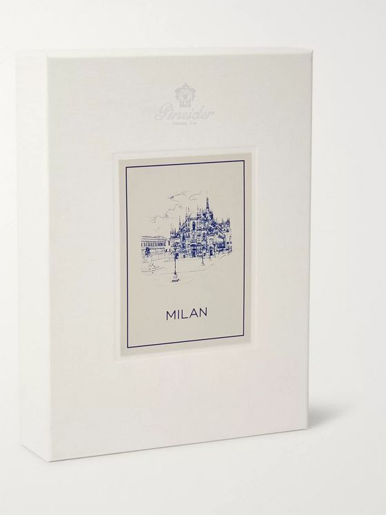 Pineider Milano A5 Stationery Set