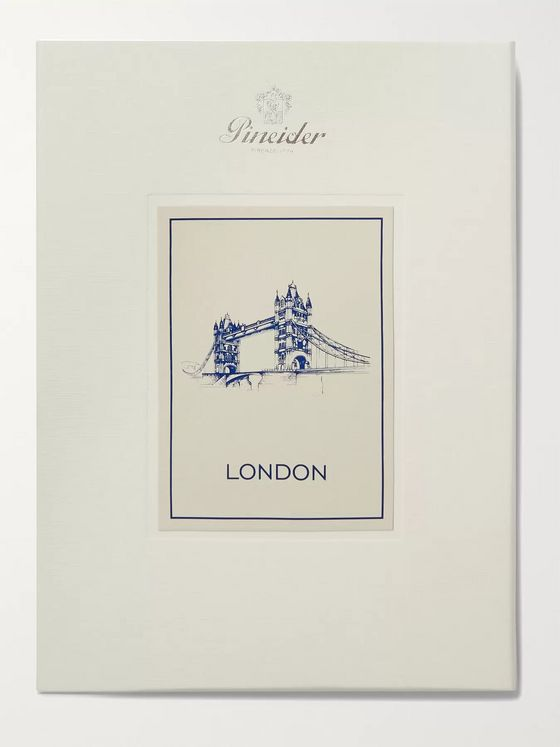 PINEIDER London A5 Stationery Set