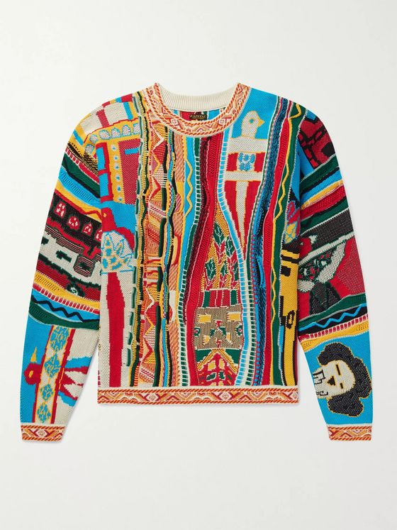 KAPITAL Cotton-Jacquard Sweater
