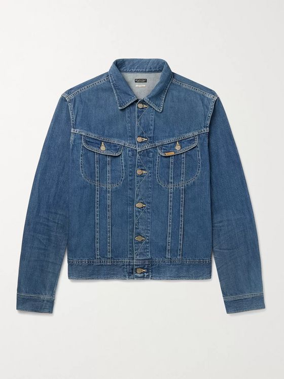 KAPITAL Slim-Fit Denim Trucker Jacket