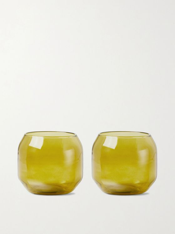 R+D.LAB Velasca Acqua Set of Two Glasses
