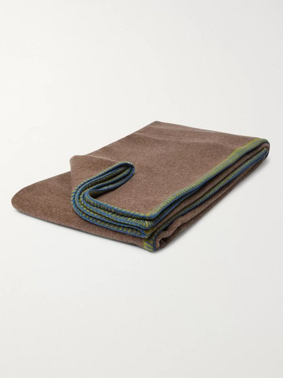 R+D.LAB Wool and Cashmere-Blend Blanket