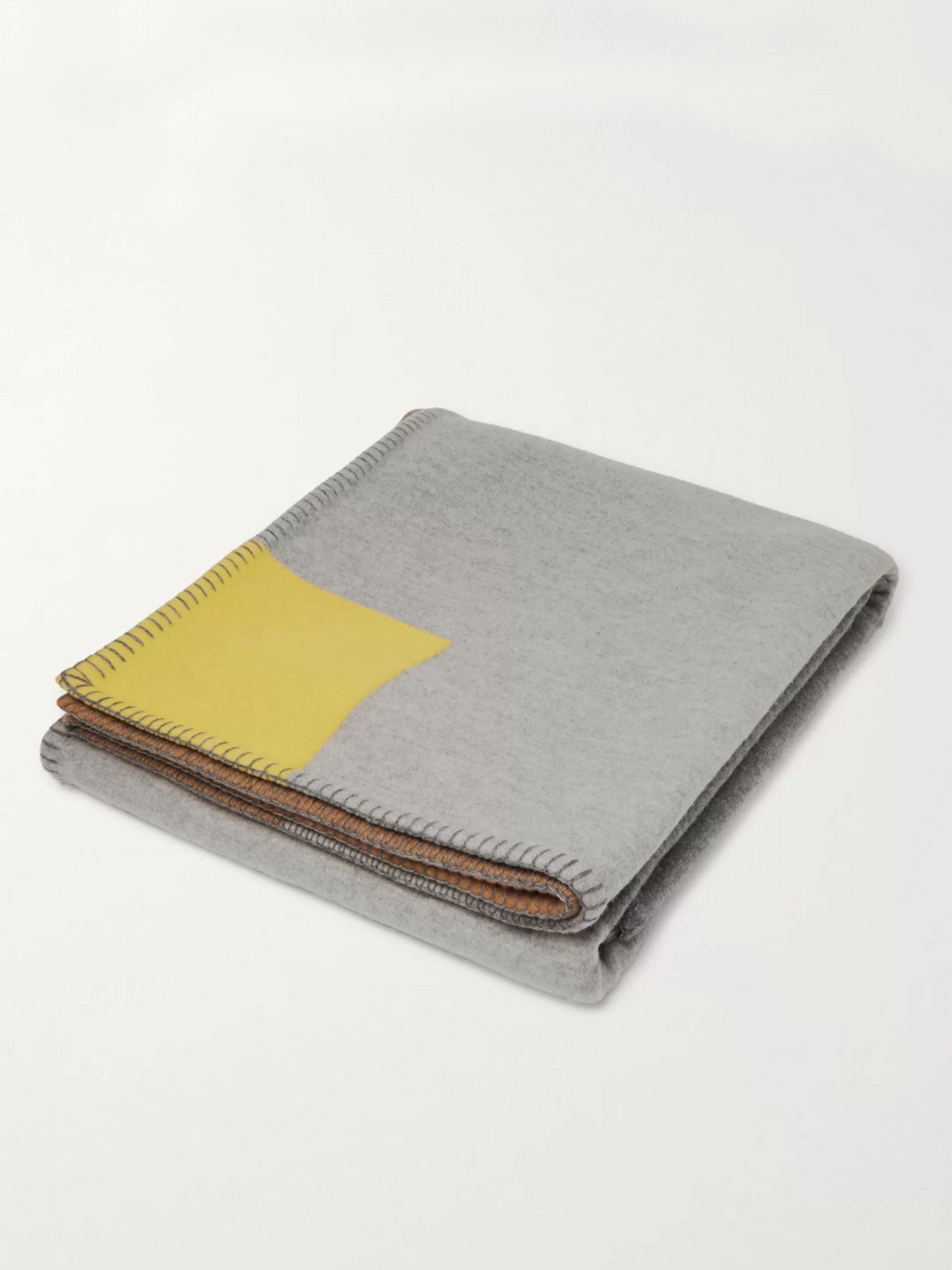R+D.LAB Citta Wool and Cashmere-Blend Blanket