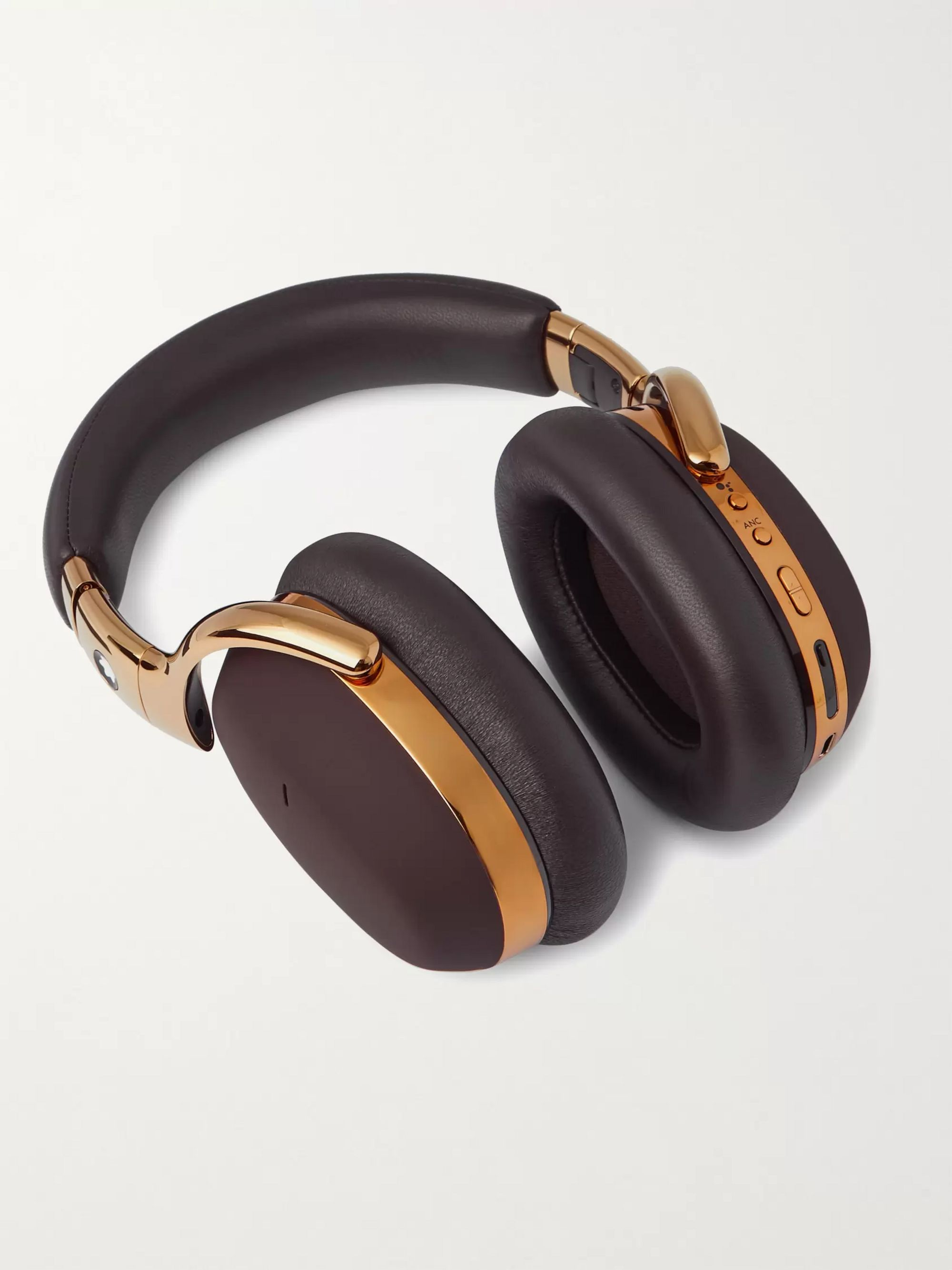 MONTBLANC MB 01 Leather Wireless Headphones