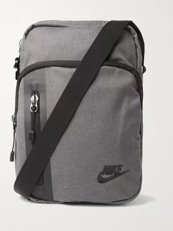 NIKE Logo-Appliquéd Canvas Pouch
