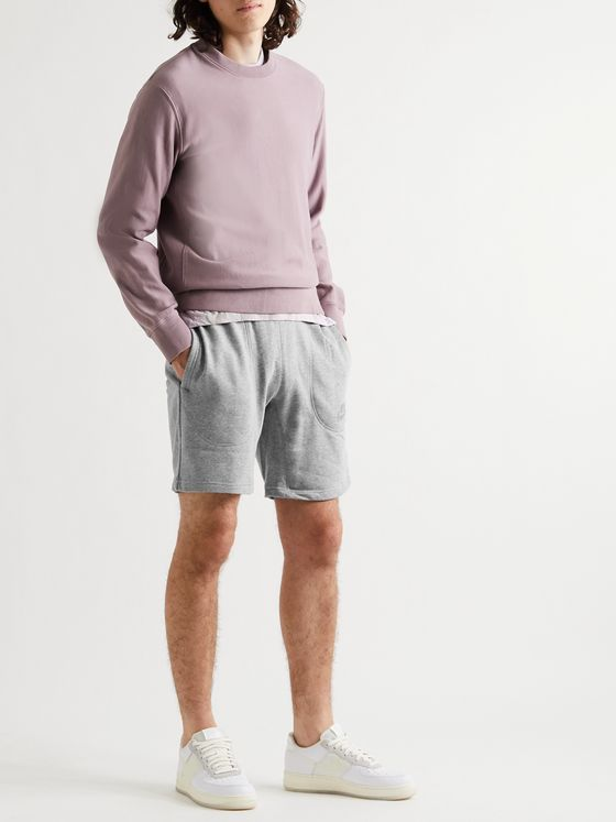 Nike Zero Logo-Appliquéd Loopback Cotton-Blend Jersey Shorts