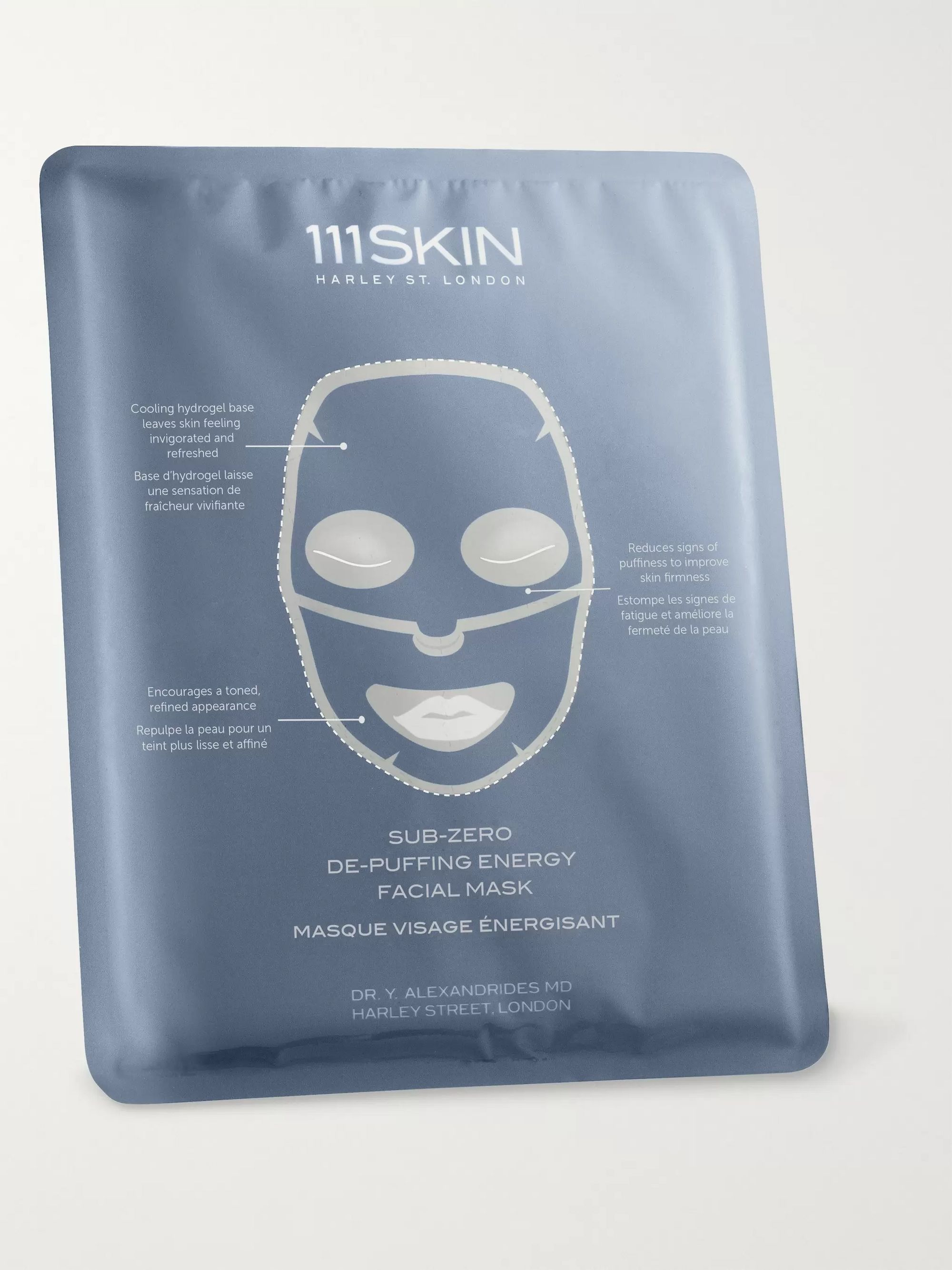 111SKIN Sub-Zero De-Puffing Energy Facial Mask, 23ml