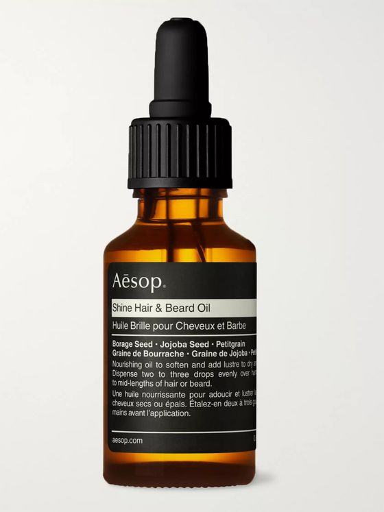 Aesop Shine Hair & Beard Oil, 25ml