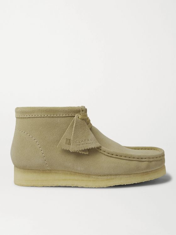 CLARKS ORIGINALS Wallabee Suede Desert Boots
