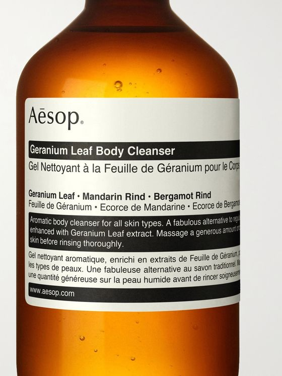 Aesop Geranium Leaf Body Cleanser, 100ml