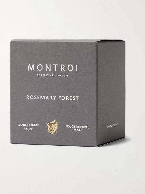 MONTROI Rosemary Forest Scented Candle, 80g