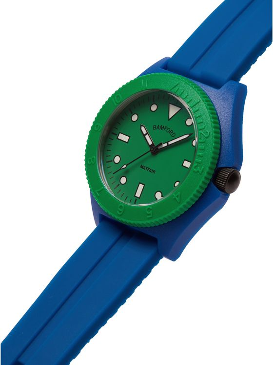 BAMFORD LONDON Mayfair Sport Limited Edition Polymer and Rubber Watch