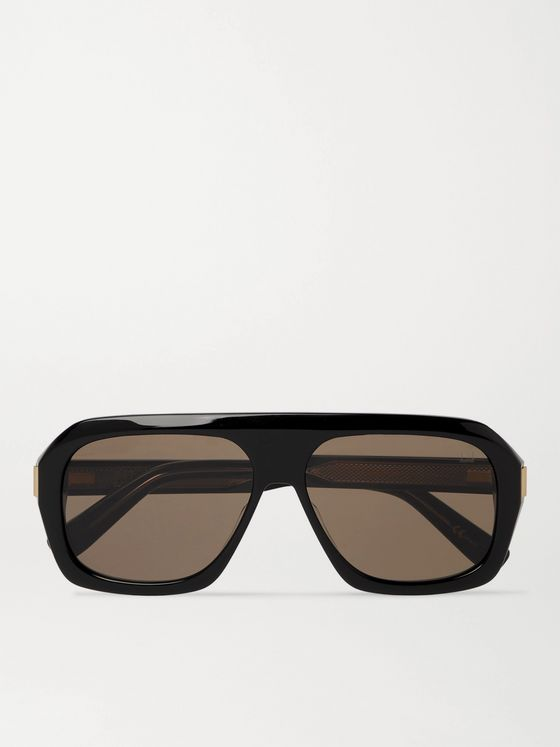 DUNHILL D-Frame Acetate Sunglasses