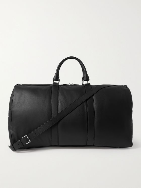 BOTTEGA VENETA Full-Grain Leather Weekend Bag