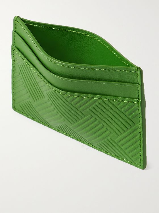 BOTTEGA VENETA Intrecciato-Embossed Leather Cardholder