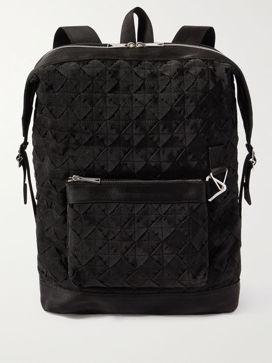 BOTTEGA VENETA Intrecciato Webbing Backpack