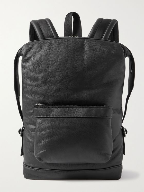 BOTTEGA VENETA Full-Grain Leather Backpack