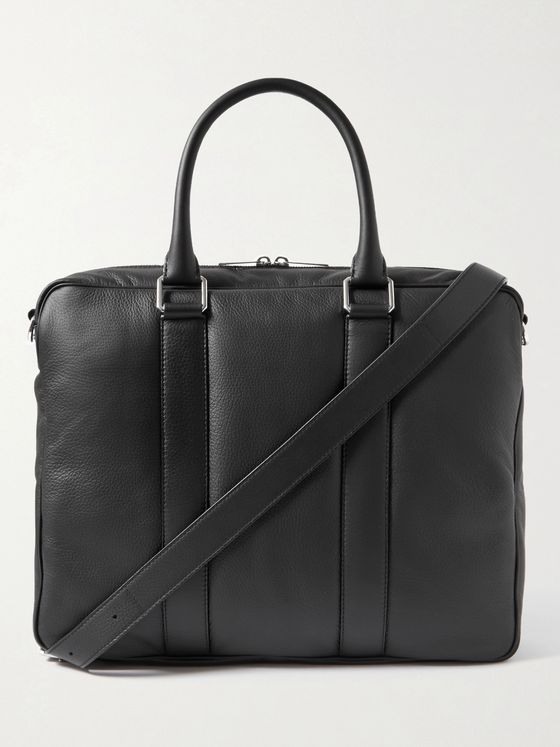 BOTTEGA VENETA Full-Grain Leather Briefcase